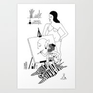 The Great Man Art Print