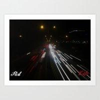 Fast Life Art Print