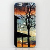Winter Electric iPhone & iPod Skin