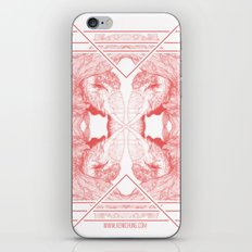The Willow Pattern (Rose variation) iPhone & iPod Skin