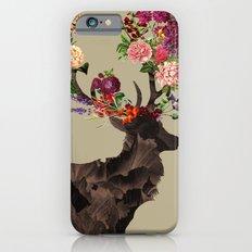 Spring Itself Deer Flower Floral Tshirt Floral Print Gift Slim Case iPhone 6s