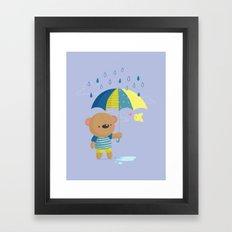 Rainy Season Framed Art Print