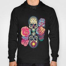 Skulls And Flowers Hoody