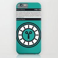 No019 MY Tristram Shandy Book Icon poster iPhone 6 Slim Case
