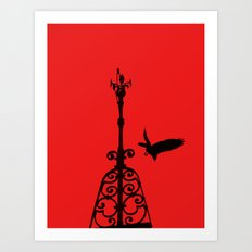 The Perfect Crash  In Re… Art Print