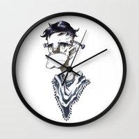 Frankenstein Hipster Wall Clock