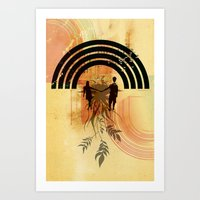 Amor De Verano Art Print