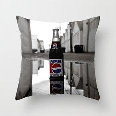 Urban Pepsi-Cola Throw Pillow