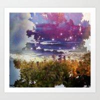 Surfing on Acid Art Print