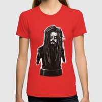 Rob Zombie Womens Fitted Tee Red SMALL