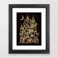 Castle Swirvington Framed Art Print