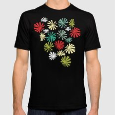 Fan Palm - Kodachrome SMALL Black Mens Fitted Tee