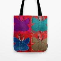 Stagerfly Collage Tote Bag