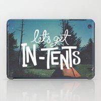 Let's Get In-Tents iPad Case
