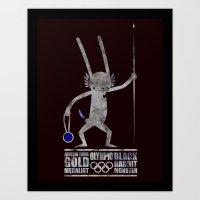 출전 CHAMPION - Olympic Dedicationg Art Print