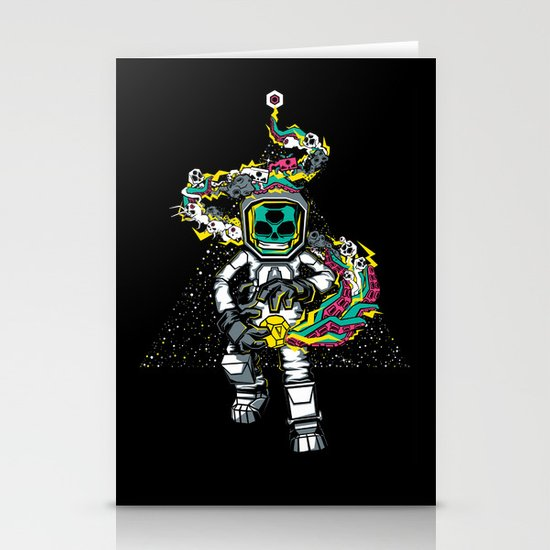 Space Madness! Stationery Card