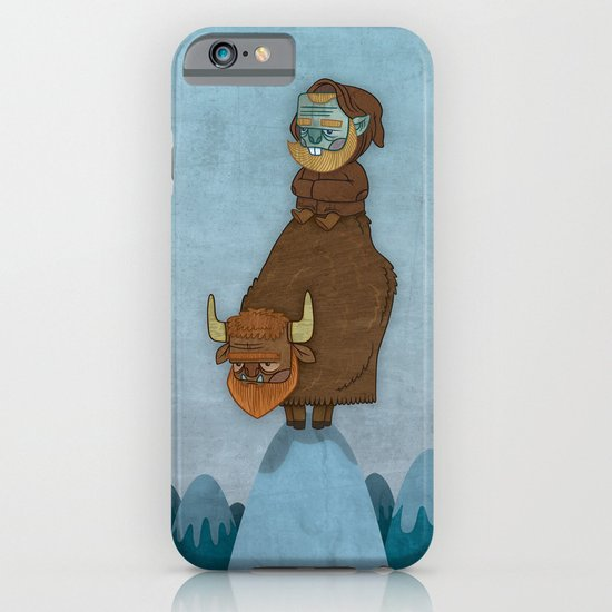 Man of the Mountains iPhone & iPod Case