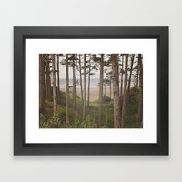 Dreamy Ocean Framed Art Print