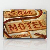 Vintage Grunge Motel Sig… iPad Case