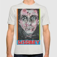 Renegade by Richard Schemmerer Mens Fitted Tee Silver SMALL