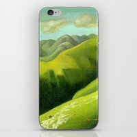 Mustering at the End of the Farm iPhone & iPod Skin