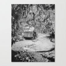 Water Wheel #1 Canvas Print