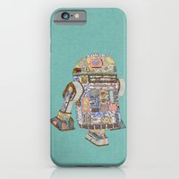 R2D2 Crashed Into A Flow… iPhone 6 Slim Case