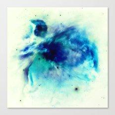 Orion Nebula Teal Turquoise Aqua Blue Canvas Print