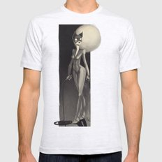 Catwoman Mens Fitted Tee Ash Grey SMALL