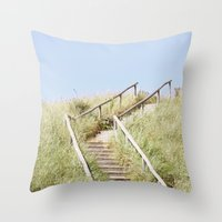 Sanddune, Egmond aan Zee Throw Pillow