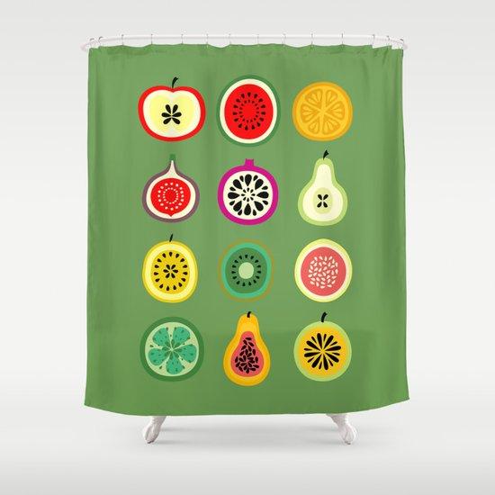 Banca de Frutas Shower Curtain
