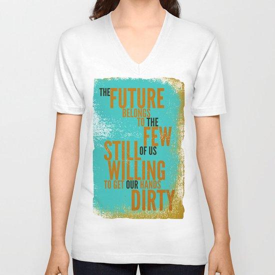 The Future Belongs to You V-neck T-shirt