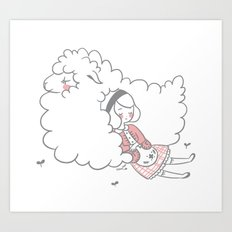 Sleeping creatures Art Print