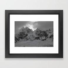 Mount Framed Art Print
