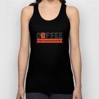 Coffee Rules Everything Around Me Unisex Tank Top
