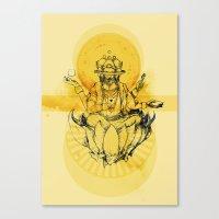 Brahma Canvas Print