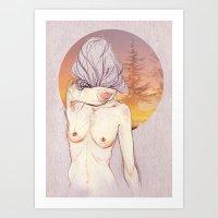 Lúa. Art Print