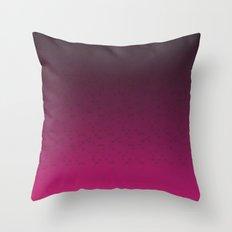 Pink Butterfly Throw Pillow