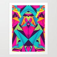 Friendly Color Art Print