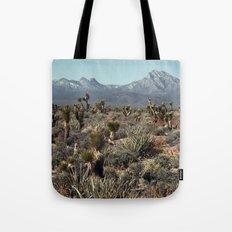 Cold Creek, Nevada Tote Bag
