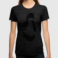 MJ - It Don't Matter Womens Fitted Tee Tri-Black SMALL