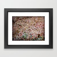 Iced Over Framed Art Print