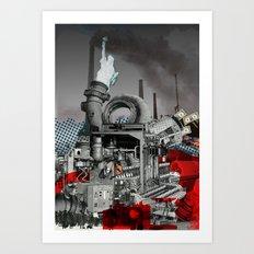Zyklus Tretmühle Art Print