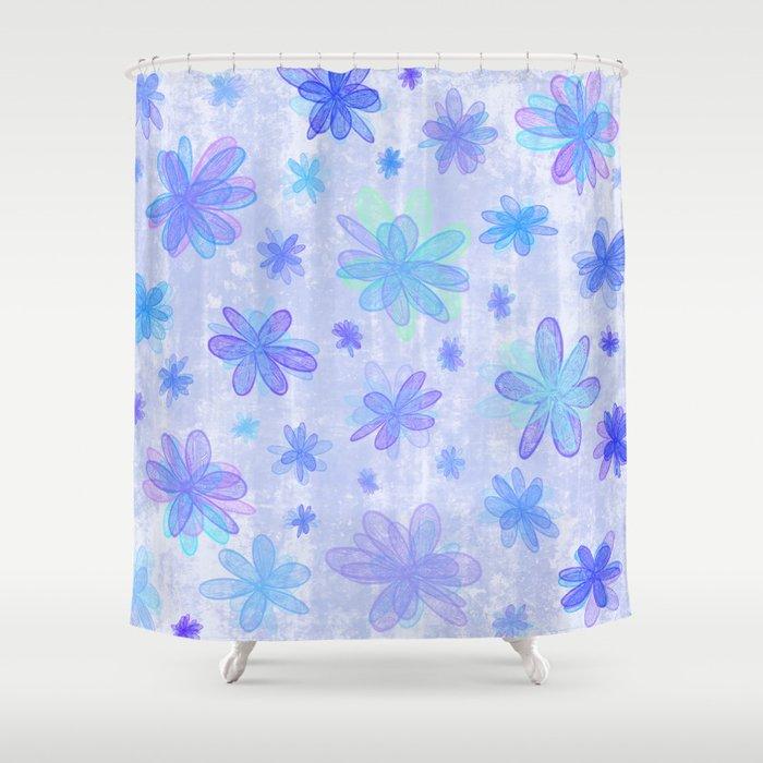 Seasons winter shower curtain by alice gosling society6