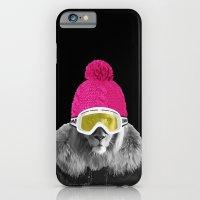 LION SURFER POWDER POWER iPhone 6 Slim Case