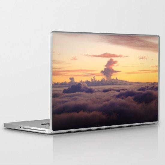 HALEAKALA'S CLOUDS Laptop & iPad Skin