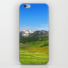 Crested Butte iPhone & iPod Skin