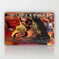 Nosferatu Vs. Father Pip… Laptop & iPad Skin