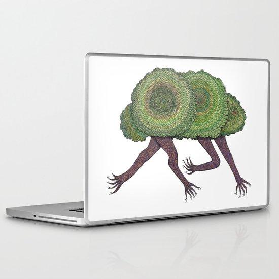 Creeping Shrubbery Laptop & iPad Skin