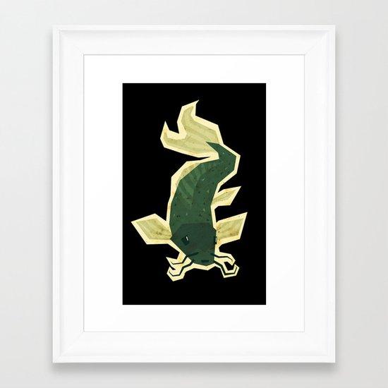 carp Framed Art Print